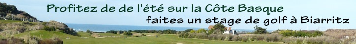 stage de golf � Biarritz